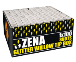 Zena Glitter Willow Box